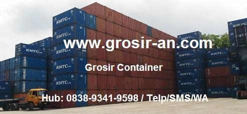 Berapa Ukuran Container 20, 40 Feet