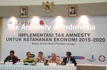 Tax Amnesty di Indonesia