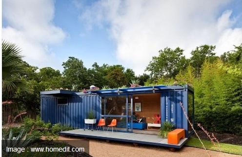 Rumah Minimalis dari Container Bekas