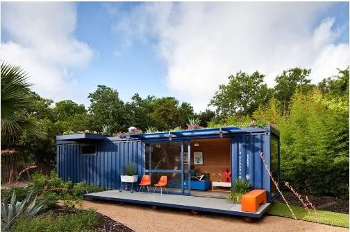 Rumah Unik Dari Container Bekas