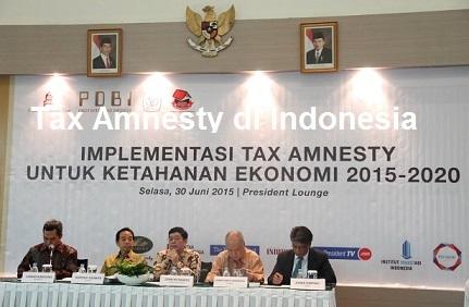 Tax Amnesty Tahap Pertama Sudah Berakhir