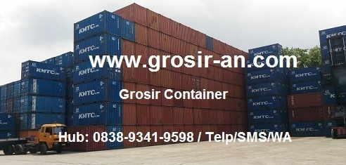 Container Not Worthy Cargo Murah