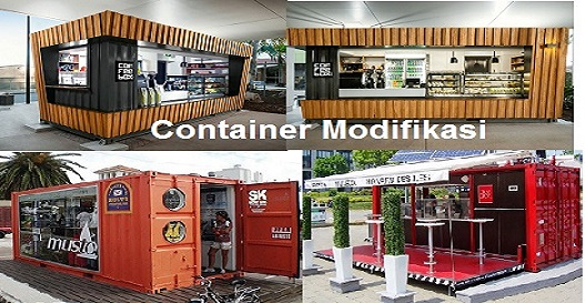 Container Untuk Cafe Kuliner