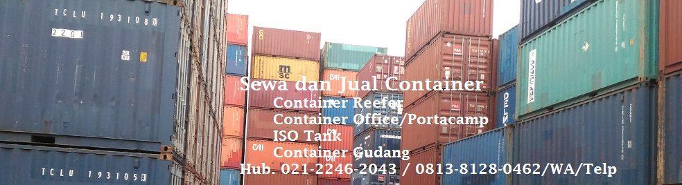 Jual Container Bekas Jakarta Murah